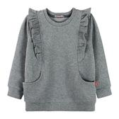 『小鱷魚童裝』荷葉邊長版上衣(02號~10號)534182