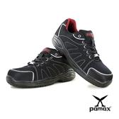 PAMAX 帕瑪斯【超彈力、超透氣】運動型透氣網布、高抓地力安全鞋、夜間反光  PAA66607H