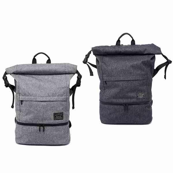 旅遊 健身 兩用 後背包 防水 大容量 鞋子 毛巾 收納 可放筆電 側拉鍊 收納袋 旅行 『無名』 M06111