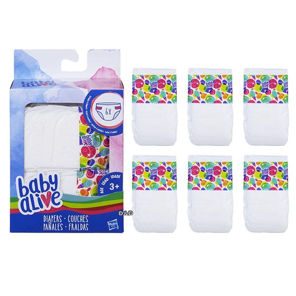 《 Baby Alive 》Hasbro 淘氣寶貝 - 尿布補充包 / JOYBUS玩具百貨