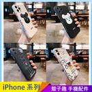 暴力熊情侶 iPhone 12 mini iPhone 12 11 pro Max 手機殼 側邊印圖 直邊液態 保護鏡頭 全包邊軟殼 防摔殼