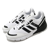 adidas 休閒鞋 ZX 1K Boost 白 黑 男鞋 女鞋 基本款 舒適 網布 透氣 運動鞋 【ACS】 FX6510