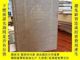 二手書博民逛書店Webster s罕見Dictionary of Synonym