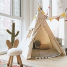 兒童室內帳篷女孩男孩過家家游戲屋印第安風...