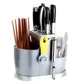 廚房筷子筒家用挂式刀架勺子桶收納盒