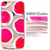 24H 客製滿版甜甜紅心西瓜iPhone 6 6S Plus 5 5S SE 手機殼TPU