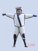 防蜂服 馬蜂服胡蜂防護服專用加厚風扇透氣型全套連體防蜂服消防服馬蜂衣
