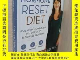 二手書博民逛書店The罕見Hormone Reset Diet Heal Your Metabolism toY227868