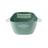 Pioneer瀝水籃4.4L-藍綠