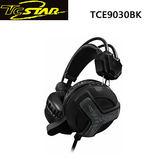 T.c.star 連鈺 悍將風輪GAMING電競玩家頭戴式耳機麥克風 TCE9030BK