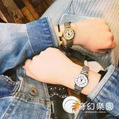 手錶-韓版時尚簡約森系潮流復古學生氣質女手表圓形原宿休閑小表盤腕表-奇幻樂園