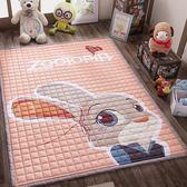 雙十二鉅惠 棉質爬行墊防滑加厚嬰兒童客廳臥室游戲毯地墊家用爬爬墊機洗地毯xw