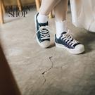 Queen Shop【05020135】餅乾休閒帆布鞋 三色售 S/M/L*現+預*