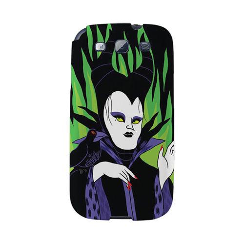 【韓國正品Makase】※Maleficent※ SAMSUNG Galaxy S3 i9300 質感手機保護殼 附贈胸針及簡易立架