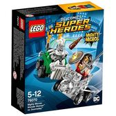 LEGO樂高 SUPER HEROES 超級英雄系列 Mighty Micros: Wonder Woman™ vs. Doomsday™_LG76070