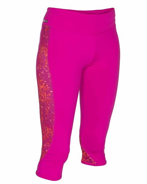 HURLEY|女 X Nike Dri-FIT 科技CROP LEGGING Beach Active-七分褲 (亮粉紅)
