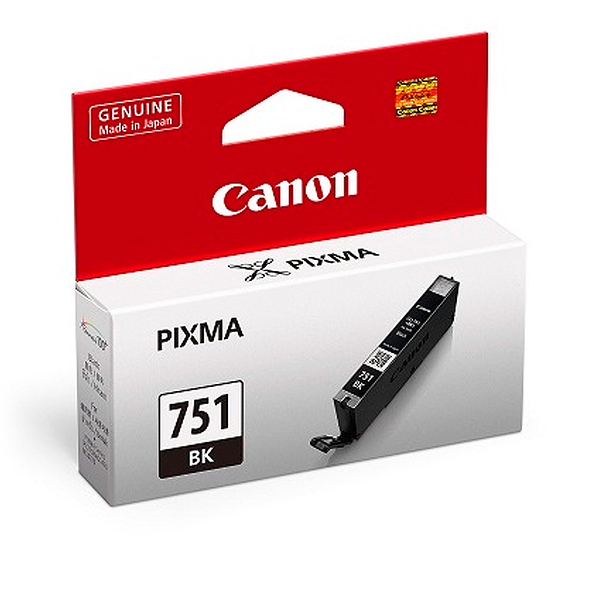 CLI-751BK CANON  原廠相片黑墨水匣 iP7270/MG5470/MG5570/MG5670/MG6370/MG6470/MG6670/MG7570/MX727/MX927/MG7170/iX6770/iP8770