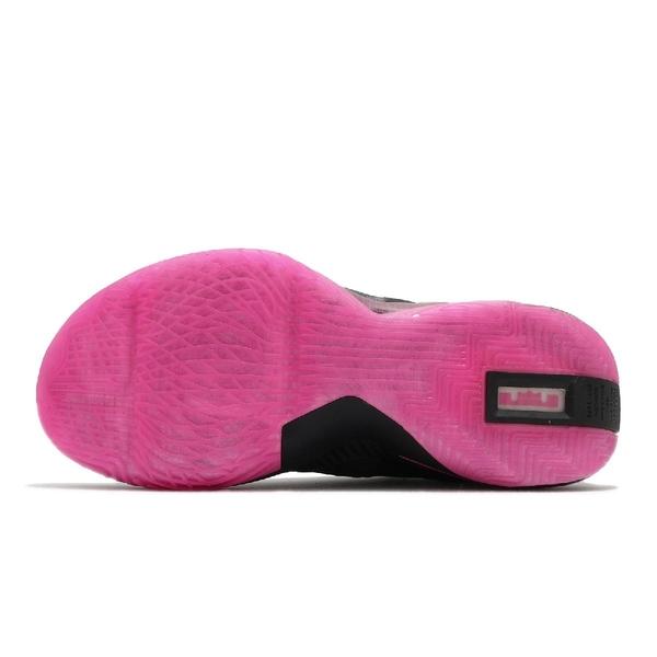 Nike 籃球鞋 LeBron Soldier XIV EP KAY YOW 黑 粉紅 男鞋 乳癌 氣墊 運動鞋【ACS】 DC2394-001