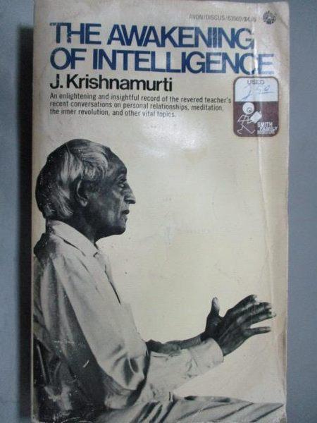 【書寶二手書T9/原文書_OCQ】The Awakening of Intelligence