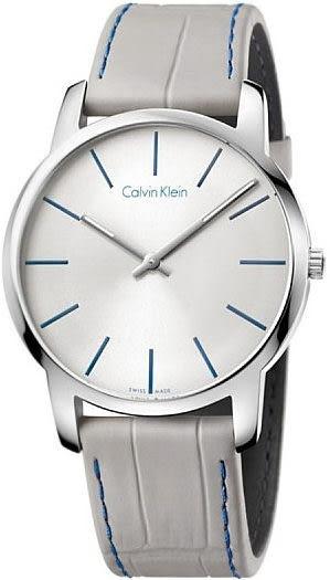 CK -CALVIN KLEIN City 系列男士腕錶 瑞士ck手錶 男錶女錶對錶K2G211Q4
