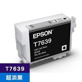 EPSON 原廠墨水匣 T763900 超淡黑 (SC-P607適用)