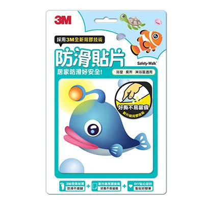 【佳兒園婦幼館】3M 防滑貼片-海洋生物