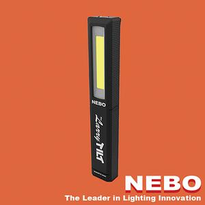 【NEBO】Larry Tilt任意傾斜COB LED手電筒-經典黑