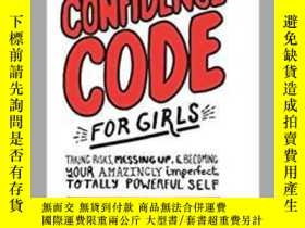 二手書博民逛書店The罕見Confidence Code for Girls 女