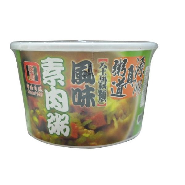【源順】真粥道風味素肉粥*60g