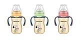 史努比SNOOPY 小哈利寬口葫蘆PPSU奶瓶-210ml通用小獅王寬口與貝親寬口奶嘴