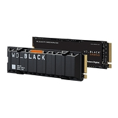 WD 威騰 黑標 SN850 1TB 不含散熱片版 NVMe M.2 PCIe SSD 固態硬碟 WDS100T1X0E
