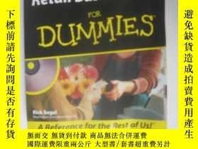 二手書博民逛書店Retail罕見Business Kit for Dummies