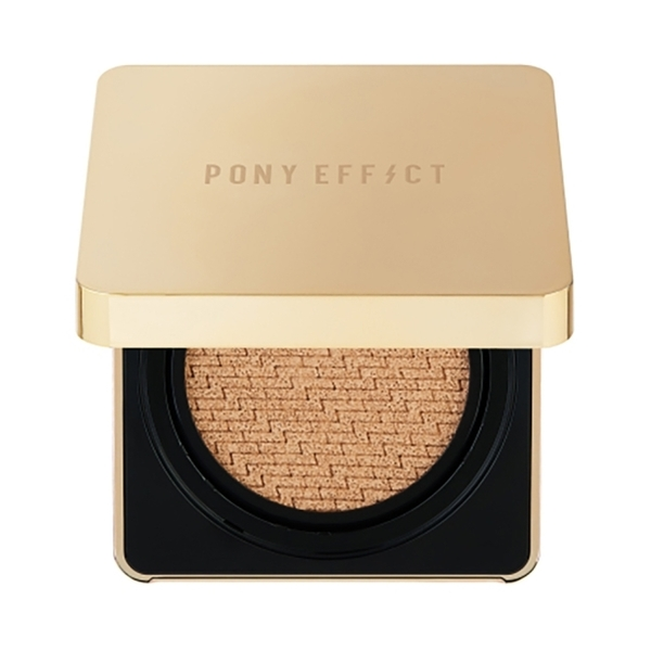 【PONY EFFECT】絕對持久無瑕氣墊粉餅(1盒1蕊 15g*2) 自然色