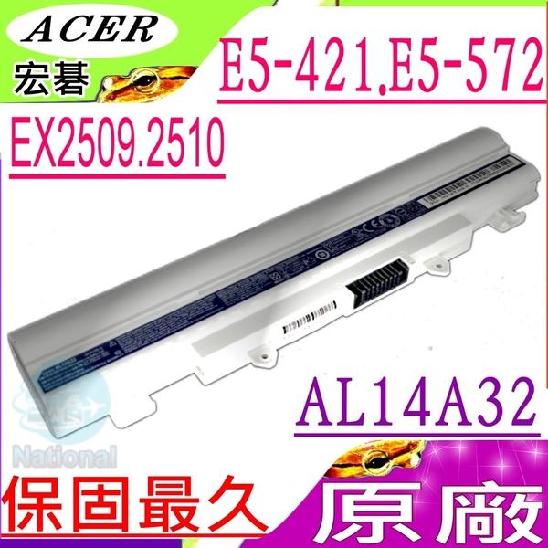 ACER  AL14A32 電池(原廠)-宏碁   Extensa 2509電池,EX2509,2510電池,EX2510,2510G電池,EX2510G