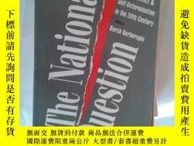 二手書博民逛書店THE罕見NATIONAL QUESTION【662】NATIO