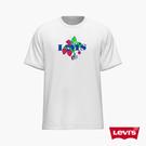 Levis 男款 短袖T恤 / 翻玩夏日LogoT / 草莓Logo / 寬鬆休閒版型