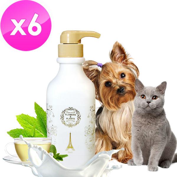 【愛戀花草】 綠茶精油 護膚除臭寵物潤絲精《1000ML / 六瓶組》