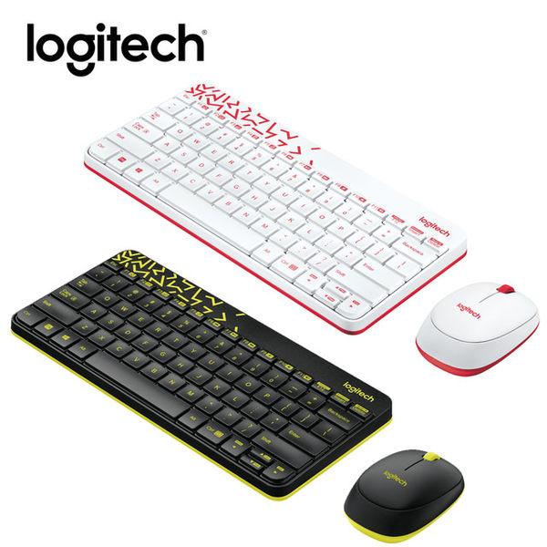 <限量促銷> 羅技 MK240 Nano 無線鍵鼠組 - 白色 (紅邊)