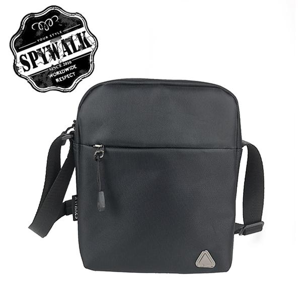SPYWALK流行簡約尼龍小斜包NO:S8062
