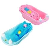 嬰兒洗澡盆新生幼兒可坐躺通用防滑寶寶沐浴盆兒童大號超大小孩盤