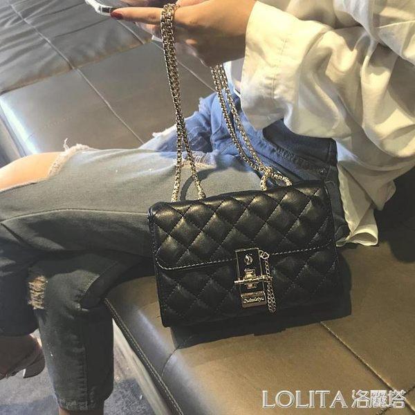 包包女2019新款菱格鏈條包chic百搭斜背包時尚高級感洋氣質感女包 探索先鋒