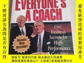 二手書博民逛書店Everyone s罕見a Coach : Five Busin