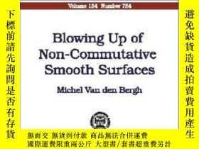 二手書博民逛書店Blowing罕見Up Of Non-commutative Smooth Surfaces-非交換光滑曲面的爆破