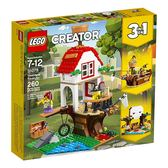 【LEGO 樂高積木】Creator創意大師系列-尋寶樹屋 LT-31078