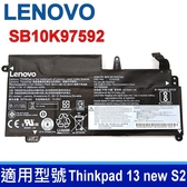 LENOVO SB10K97592 3芯 原廠電池 20GJ-006JSP SB10J78997 SB10K97592 Thinkpad 13 new S2 01AV400 01AV435