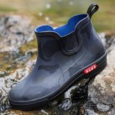 天天新品新款雨鞋男士低幫水鞋防滑雨靴短筒加絨防水鞋時尚工作鞋水靴膠鞋