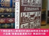 二手書博民逛書店美國國父本傑明富蘭克林窮理查年鑒罕見Poor Richard s Almanacks 老版本 沒印出版