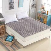 鉅惠兩天-可水洗薄床墊床護墊床褥1.5m床1.8米床榻榻米防滑席夢思保潔墊【八九折促銷】