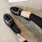 原宿風小皮鞋女2018新款英倫鞋子女韓版學生 ulzzang軟妹平底單鞋   米娜小鋪