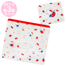 【震撼精品百貨】Hello Kitty 凱蒂貓~三麗鷗 KITTY ~夾鏈袋組(S*3入/M*3入)*25406